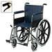 כסא גלגלים מוסדי עם מעצורי יד למוליך