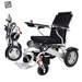 כסא גלגלים ממונע חשמלי מתקפל קל משקל Light Chair LogoSilver