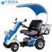 קלנועית לשני נוסעים Tzora Active Systems